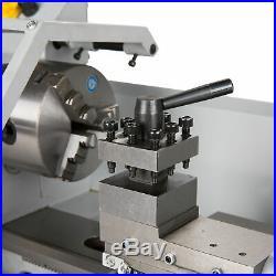 Digital 8x 14 Mini Metal Lathe Machine Variable Speed 650W DC Motor Driven