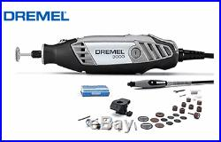 Dremel 3000-2/30 Variable Speed Rotary Tool 30 Accessories Kit Electric 220V