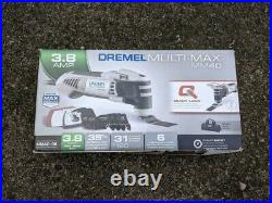 Dremel Multi-Max MM40 31-Pc Corded 3.8-Amo Oscillating Multi-Tool Kit