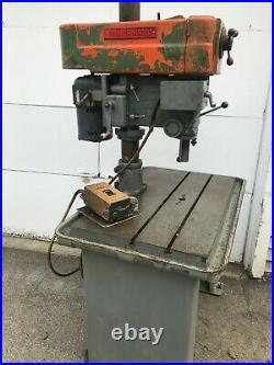 Drill Press Centrifugal Drive Multi Speeds Heavy Duty Powermatic Model 1200