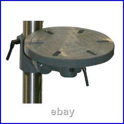 Drill Press Variable Speed 5/8 Chuck Floor Standing Laser Cast Iron Shop Tool