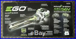 EGO 56-Volt 110 MPH 530 CFM Variable-Speed Turbo Cordless Electric Blower Kit