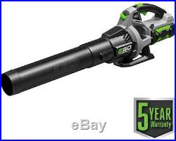 EGO Cordless Electric Blower Variable Speed with 2.5Ah Li-Ion Battery + Charger