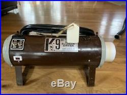 Electric Cleaner K-9 II Hot Dryer, Variable Speed, 115V, Brown, Refurbished