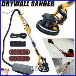 Electric Drywall Sander 850W Variable Speed withAutomatic Vacuum LED Light tool US