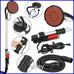 Electric Drywall Sander Adjustable Variable Speed Control With Sanding Pad 800W