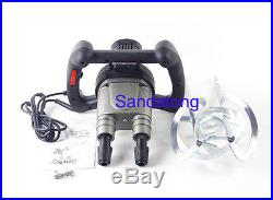 Electric Paint Liquid Mixer Variable Speed Coating, Paint, Cement Agitator 220V