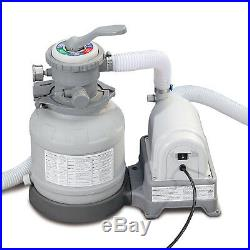 Electric Sand Filter Pump With Gfci For Above Ground Swimming Pools Easy To Use