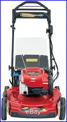 Electric Start Gas Self Propelled Mower Engine Toro Recycler 22 Variable Speed