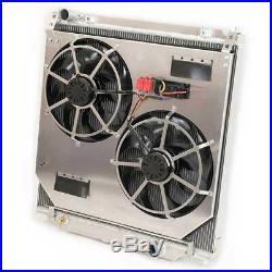 Flex-a-lite Dual Electric Fans & Radiator For 03-07 Ford 6.0L Powerstroke Diesel