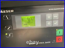 HPC / Kaeser SM12TSFC Variable Speed Rotary Screw Compressor With Dryer! 42Cfm