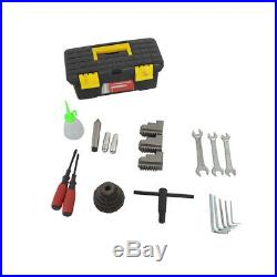 HQ 110V 8''×16'' 750W Variable-Speed Mini Metal Lathe Bench Top Digital