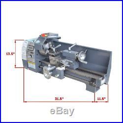 High Precision 750W Digital Metal Lathe Variable Speed 8''x16'' Workbench Wood