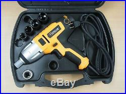 Hoteche 1/2 Dr. Electric Impact Wrench Sockets Variable Speed Carry Case