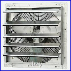 ILG8SF18V iLIVING 18 Inch Variable Speed Shutter Exhaust Fan, Wall-Mounted