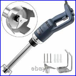 Immersion Blender Electric Handheld Mixer Variable Speed 500W 200mm Stick 110V