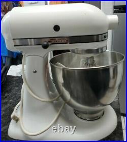 KitchenAid Hobart Model K45SS 250 Watt Variable Speed Vintage Stand Mixer + Bowl