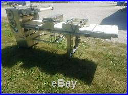 LVO SM224-9 Bakery Dough Sheeter/Moulder Variable Speed 120 Volts 1 Phase Tested