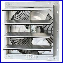 Louvered Exhaust Fan Wall 16 Inch Mounted Variable Speed Automatic Shutters Fans