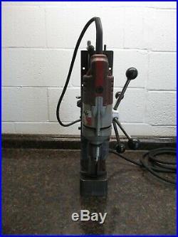 Milwaukee 4202 Electromagnetic Variable speed magnetic drill Press FREE SHIPPING