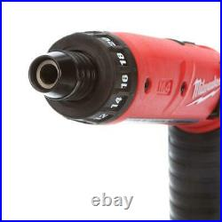 Milwaukee Electric Screwdriver 4-Volt Li-Ion Cordless 1/4 in. Hex 2-Battery Kit