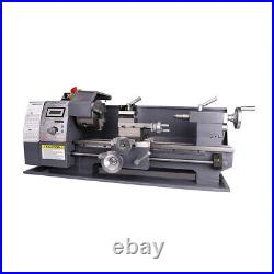 Mini Lathe Metal Machine 750W 8x16 Automatic Variable-Speed Woodworking Tooling