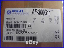 New Fuji Electric Af300g11 Variable Speed Drive 1hp 3ph 6kg1123001x1b1 Af-300g11