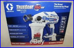 New Graco TrueCoat 360VSP Variable Speed Electric Airless Paint Sprayer 17D889