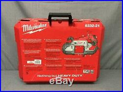 New, Milwaukee 6232-21 11a Electric Corded Deep Cut Variable Speed Band Saw Kit