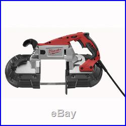 New Milwaukee 6232-21 Electric Deep Cut Variable Speed Band Saw Kit 11 Amp Sale