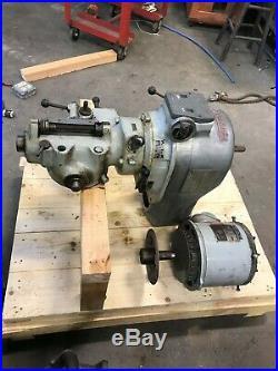 Nice Bridgeport 2J Milling Machine Head Variable Speed 2HP
