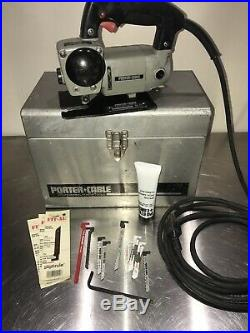 Porter-Cable Model 548 EHD Variable Speed Bayonet Saw Type 5 withcase