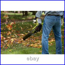 RYOBI Cordless Leaf Blower 18-Volt Variable-Speed with 4.0 Ah Battery & Charger