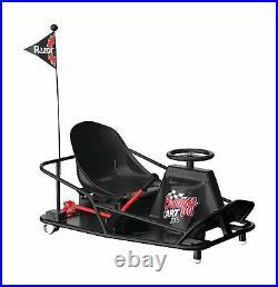 Razor Crazy XL Go Kart Electric Drifting Variable Speed 14 MPH Adult Size Fun