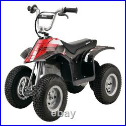 Razor Electric Kids ATV Quad Ride On 24V Powered 4Wheel Supports Up To 120 lbs