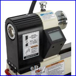 Shop Fox W1836 12 X 15 Benchtop Wood Lathe with Variable-Speed Spindle Control