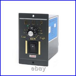 Single-phase 120W Gear Motor 13 450RPM Electric Motor Variable Speed Controller