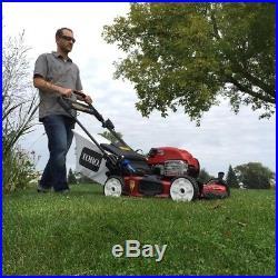 Toro 22 Walk-Behind Lawn Mower Variable Speed Electric Start Self-Propelled Gas