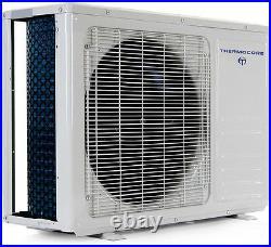 Tri Ductless Mini Split Air Conditioner Heat Pump 12000 x 3 Ceiling Cassettes