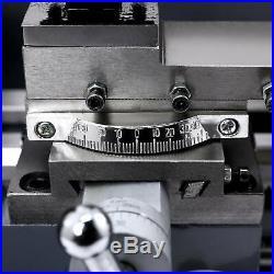 Upgraded 7 x 14Mini Metal Lathe Machine 550W Variable Speed 2250 RPM 3/4HP