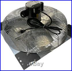 VES Variable Speed Exhaust Shutter Fan, Wall Mount, with 9' Cord-NEW IN BOX