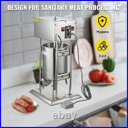 VEVOR 15L Electric Sausage Filler Stuffer Maker Commercial Butcher Vertical