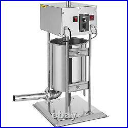 VEVOR Sausage Stuffer 12L/28lbs High Torque Commercial Electric Stainless Steel
