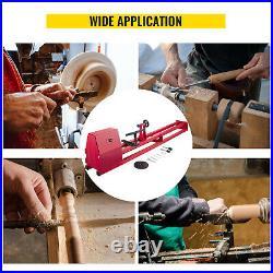 VEVOR Wood Lathe Power Lathes 14x51 Wood Lathe Machine 750W Variable Speed