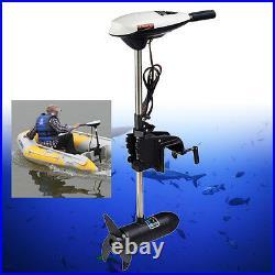 Variable Speed 65lbs 12V Electric Trolling Motor Transom Motor Boat Brush Motor