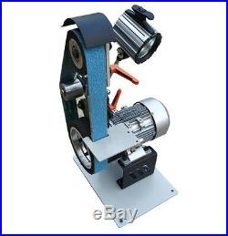 Variable Speed Belt Sander Grinder Knife Maker Industrial Working Tools 220V