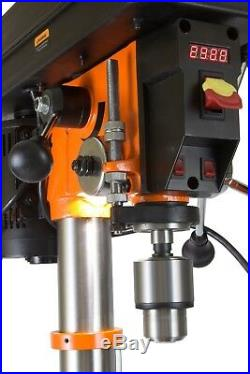 Variable Speed Drill Press 12-Inch Digital Spindle Floor Electric Machine Tool