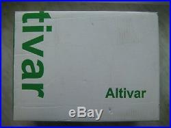 Variable Speed Drive ATV630 0.75kW 1HP 200 240V 3ph Schneider Electric VFD VSD