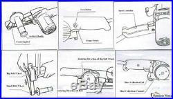 Variable Speed Electric Power 533X30 Belt Sander, Grinder, Polisher for Metals