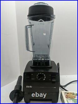 Vitamix 5000 Countertop Blender VM0103 8 Cups Variable Speed Black